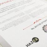 certyfikat-hazex