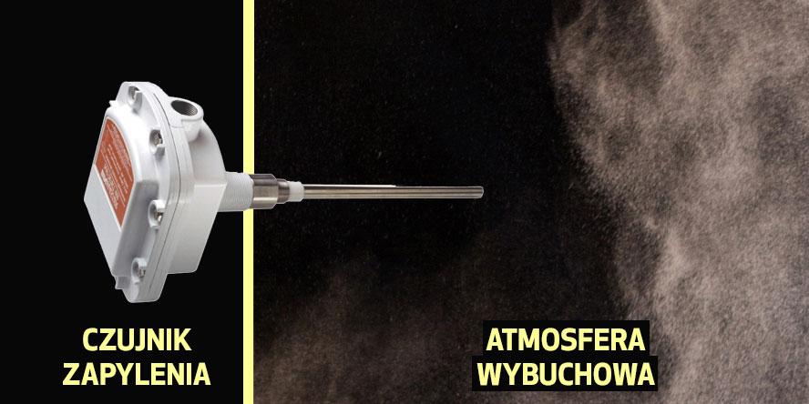 Czy czujnik zapylenia może informować o powstaniu atmosfery przeciwwybuchowej np. w silosie?